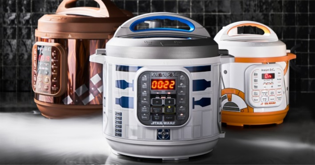 three star wars inspired instant pots