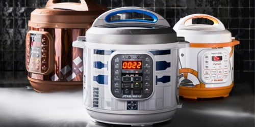 New Star Wars Instant Pot Collection at Williams Sonoma | BB-8, Chewbacca, Darth Vader & More