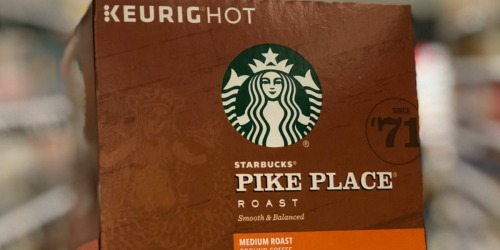 Starbucks Pike Place Medium Roast Coffee 96-Count K-Cups Only $37.51 Shipped at Amazon