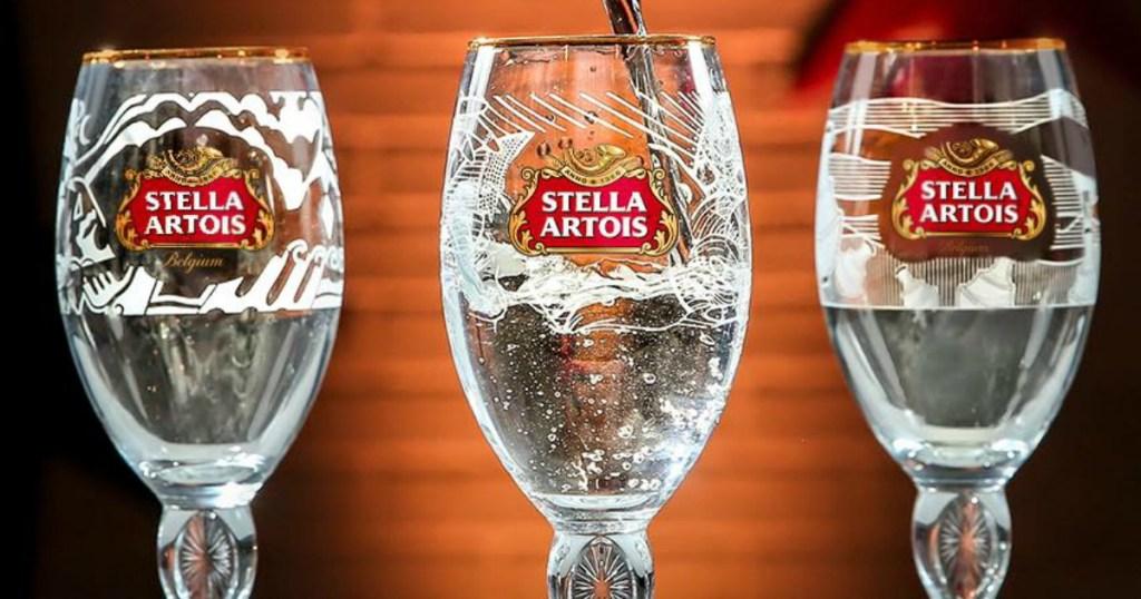 Stella Artois chalices