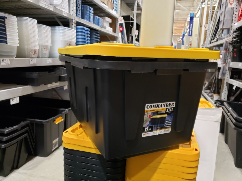 Lowe's Storage Crate