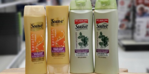 $5 in NEW Suave Hair Care Coupons = Shampoo & Conditioner Only 24¢ Each at Target