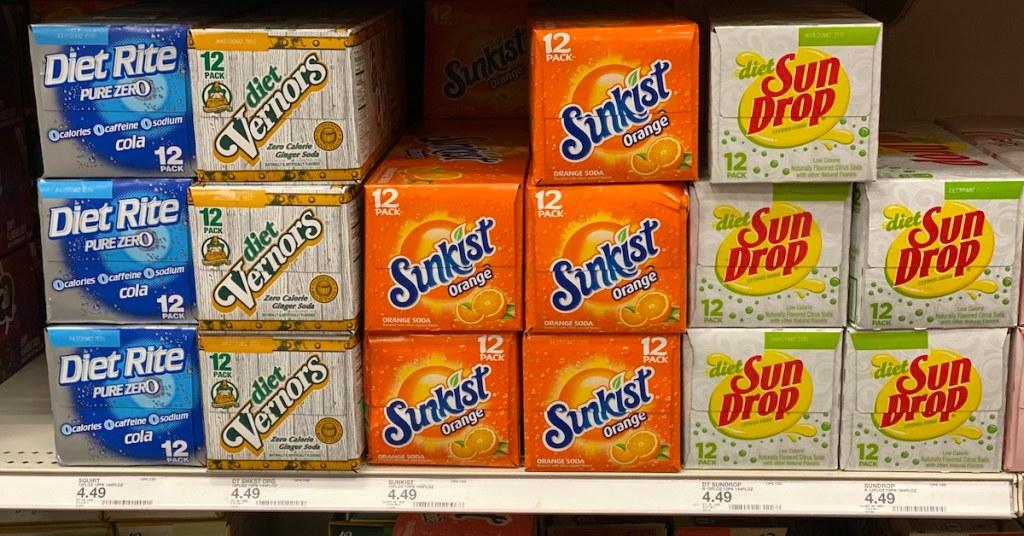 Sunkist Soda at Target