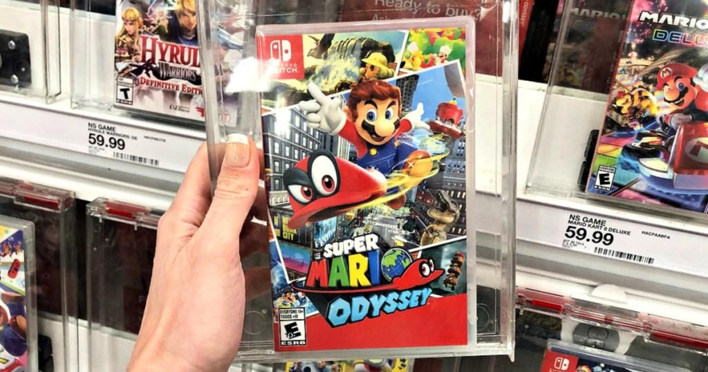 Super Mario Odyssey Nintendo Switch Video Game