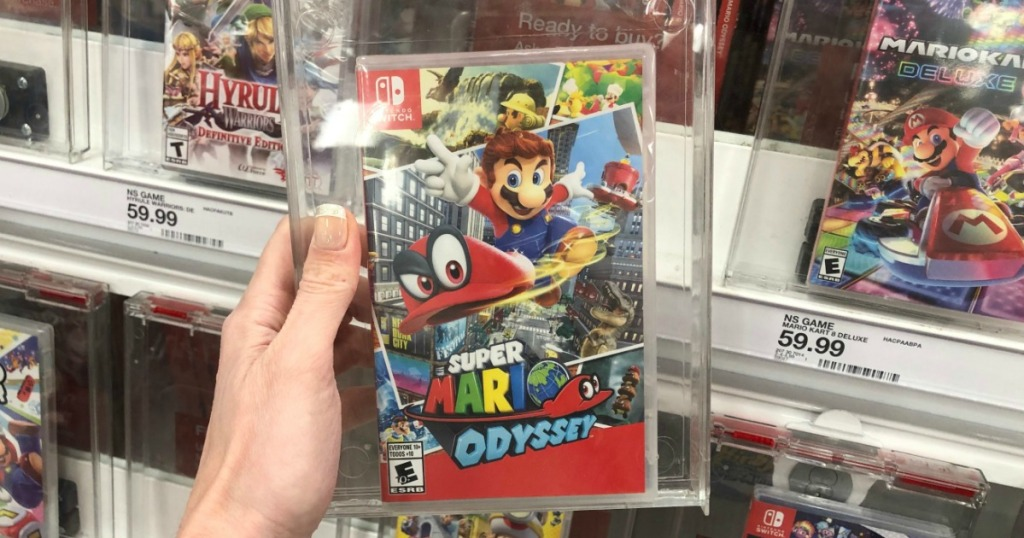 Super Mario Odyssey for the Nintendo Switch