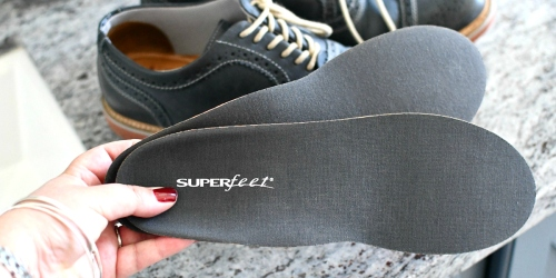 RARE 25% Off Superfeet Insoles + FREE Shipping | Team Favorite from $22 Shipped!