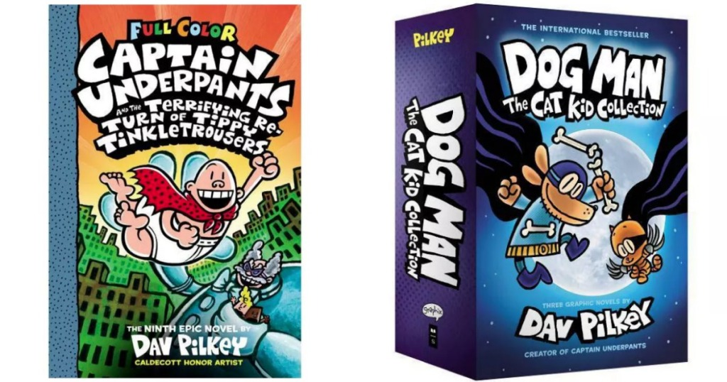 Target Captain Underpants New Release and Dog Man Books
