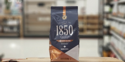 New 1850 Bagged Coffee Coupons = Up to 60% Off After Cash Back at Target
