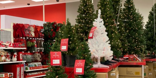 Up to 30% Off Holiday Decor at Target.com | Christmas Trees, Wreaths & More