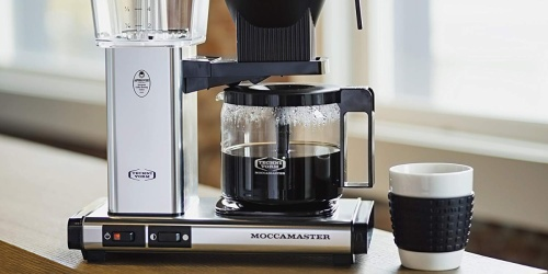 Technivorm Moccamaster Coffee Brewer Only $263 Shipped on Amazon (Regularly $359)