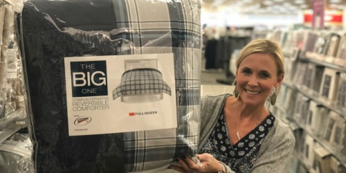 The Big One Down Alternative Comforter Only $16.99 at Kohl's (Regularly $120) | Choose ANY Size