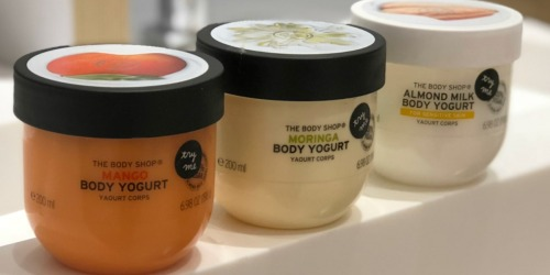 The Body Shop Body Yogurts Only $10 + Free Gift w/ $60 Purchase & More