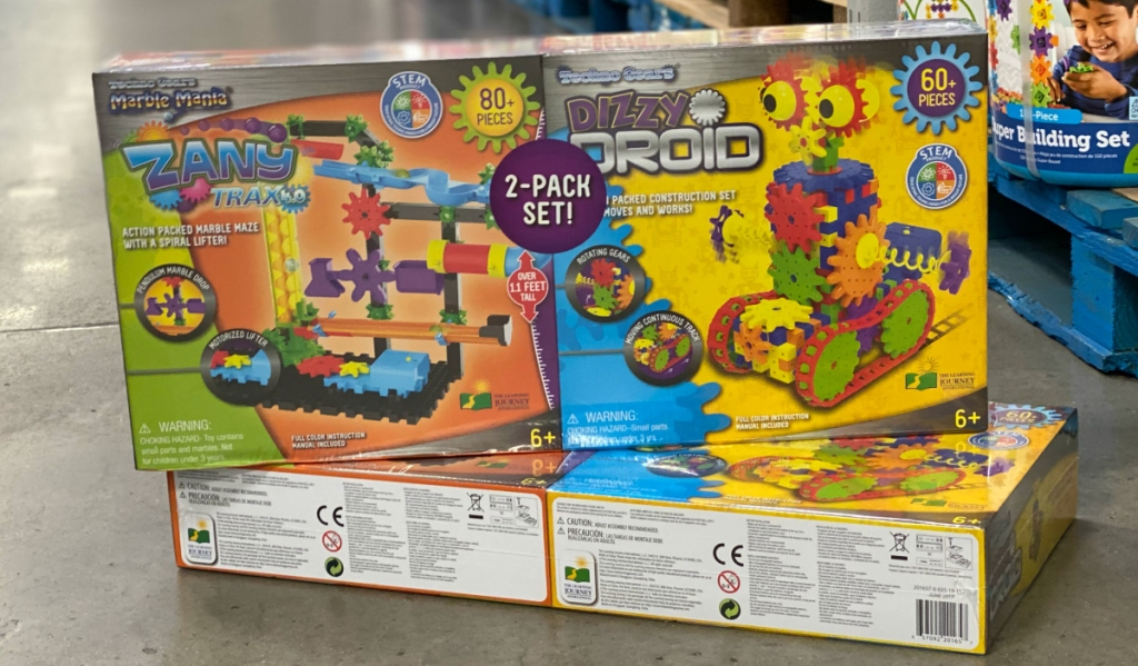 The Learning Journey Techno Gears STEM Construction 2-Pack Set