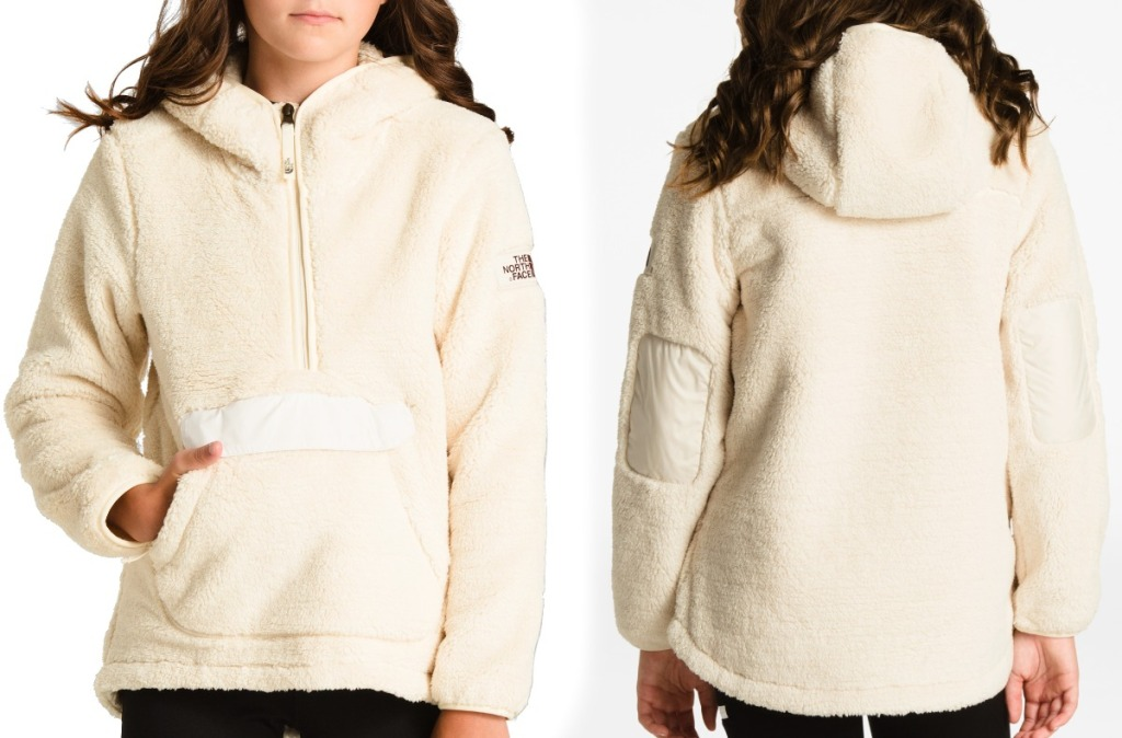 The North Face Girls Jacket in white