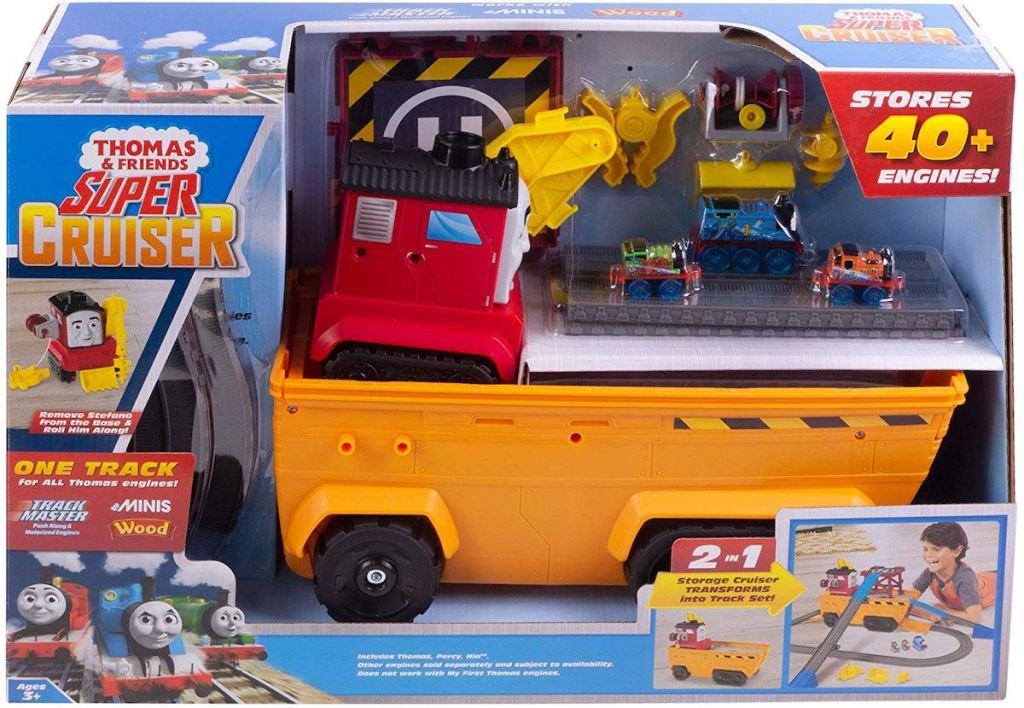 box of Thomas & Friends Fisher-Price Super Cruiser