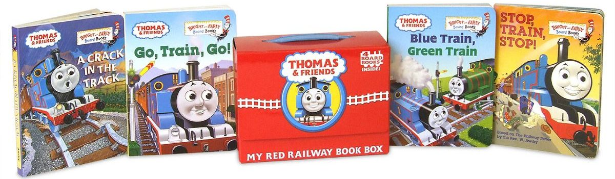 Thomas & Friends My Red Railway Book Box