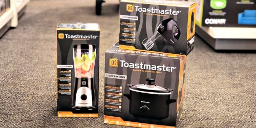 Toastmaster Slow Cooker, Blender & More from $9 Shipped for Kohl's Cardholders (Regularly $25)