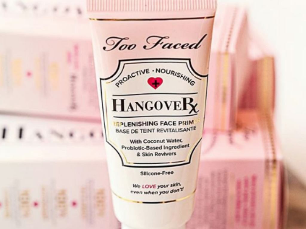 Bottle of Too Faced Travel-Size Hangover Face Primer