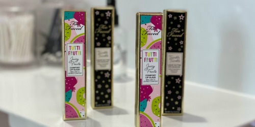 40% Off Too Faced Tutti Frutti Collection | Lip Gloss, Primer & More