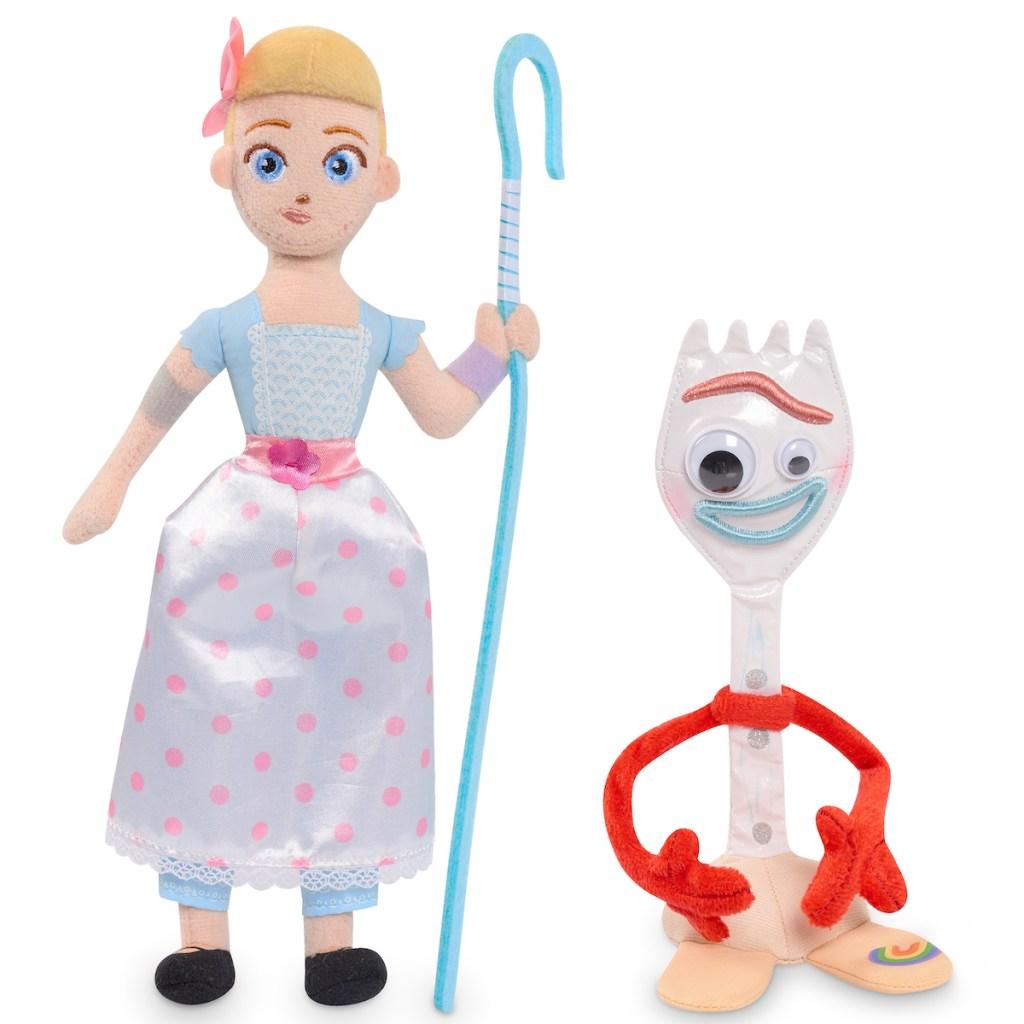 Toy Story 4 Bean Plush Bo Peep & Forky