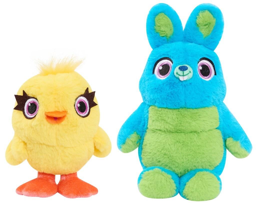 Toy Story 4 Bean Plush Ducky & Bunny