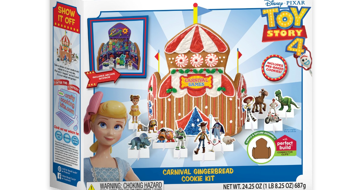 Disney Toy Story 4 gingerbread house box