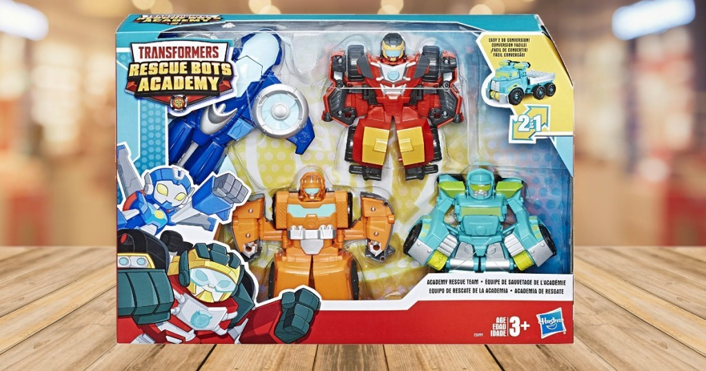 Transformers Rescue Bots in package