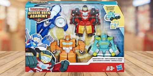 Playskool Heroes Transformers Rescue Bots 4-Pack $17.99 (Regularly $35)
