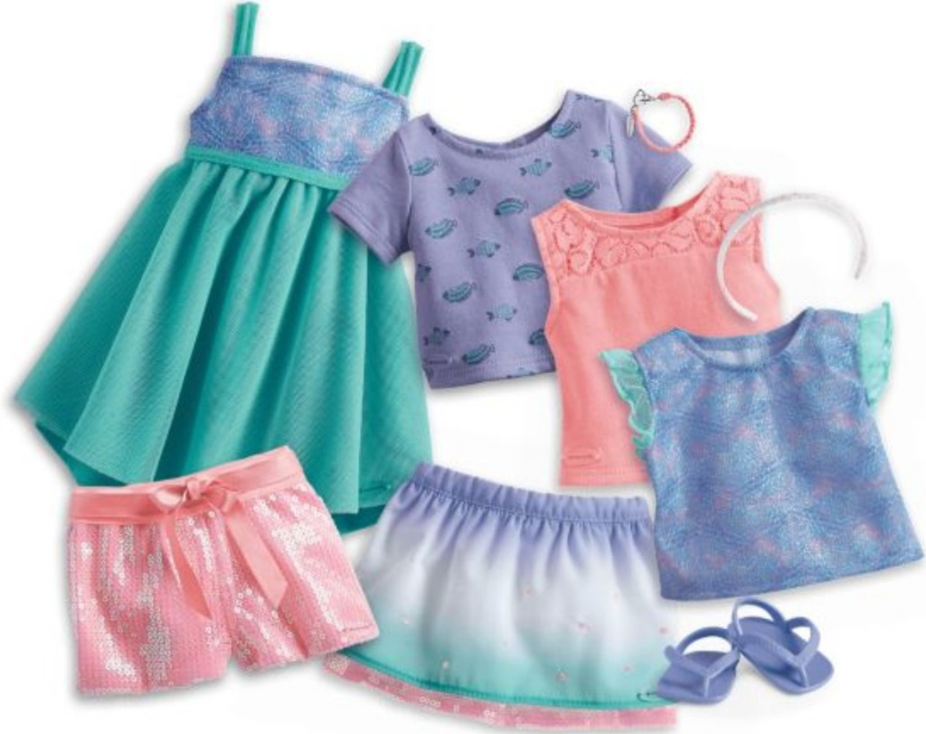 American Girl Truly Me Mix & Match Fashion Collection