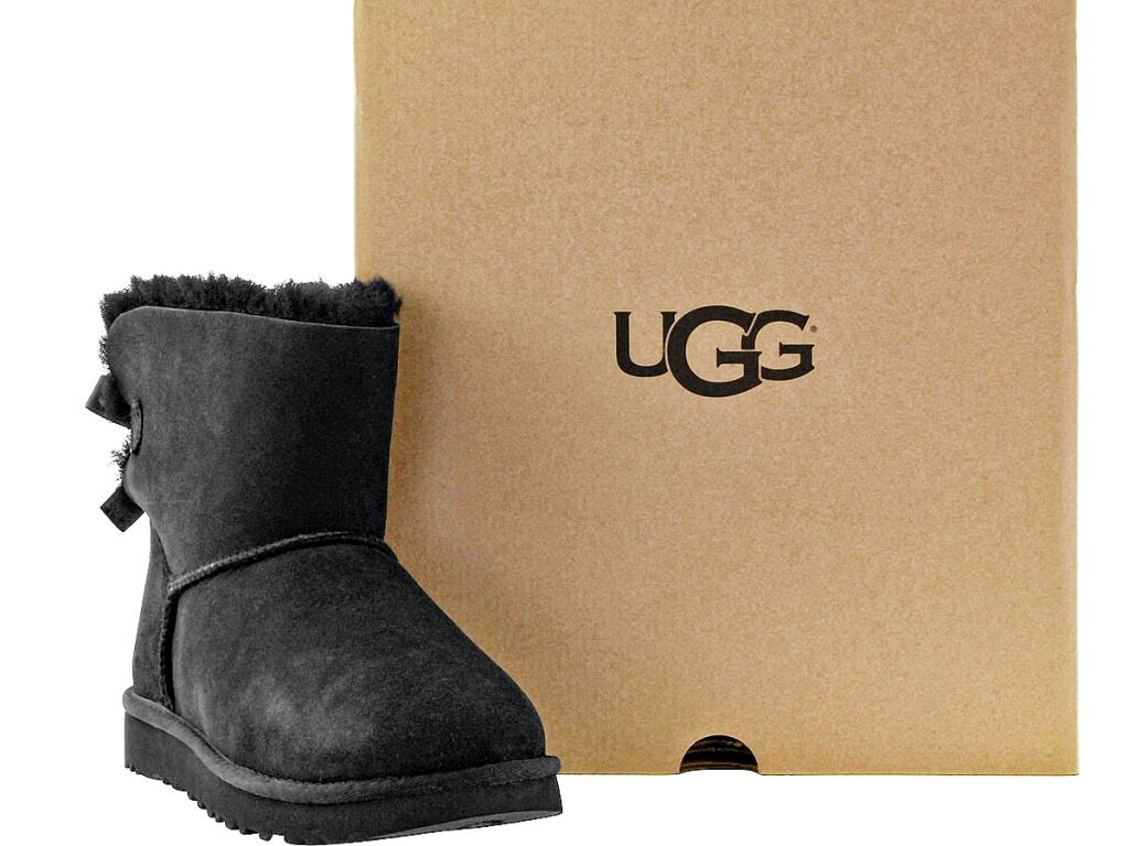 UGG Women's Bailey Bow Boots black