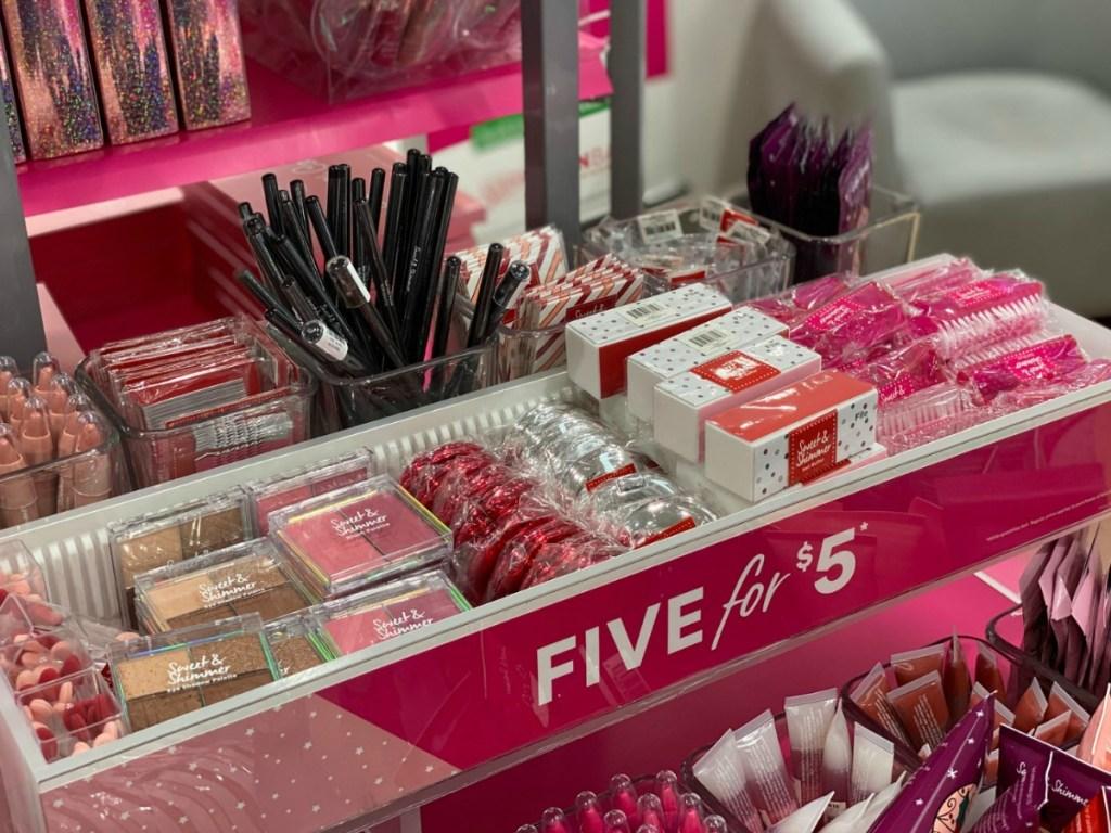 ULTA Beauty Stocking Stuffers on display in-store