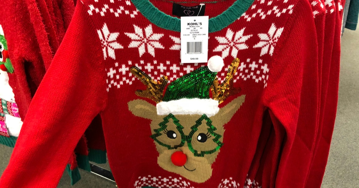 Ugly Christmas Sweater at Kohl's