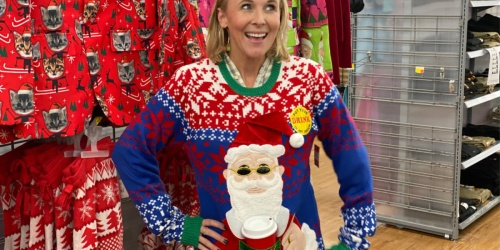Ugly Christmas Sweaters Just $21.96 at Walmart | Perfect for Holiday Pics & Parties