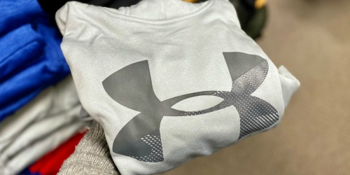 *HOT* 50% Off Under Armour Kids Apparel | Items From $8.49