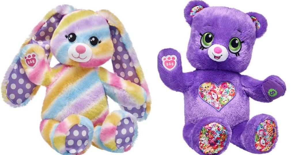 Build a Bear Bunny and Bear
