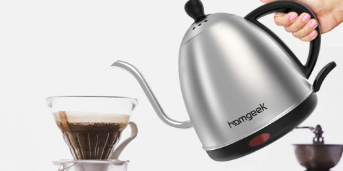 Stainless Steel 1-Liter Electric Kettle Only $19.99 Shipped at Amazon