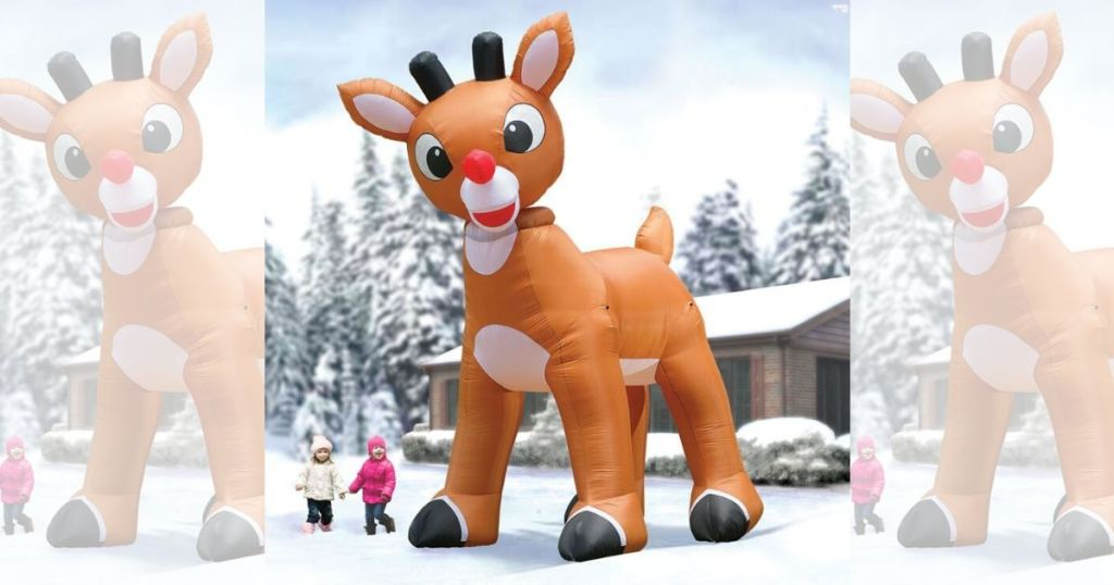 15-foot-tall Inflatable Rudolph