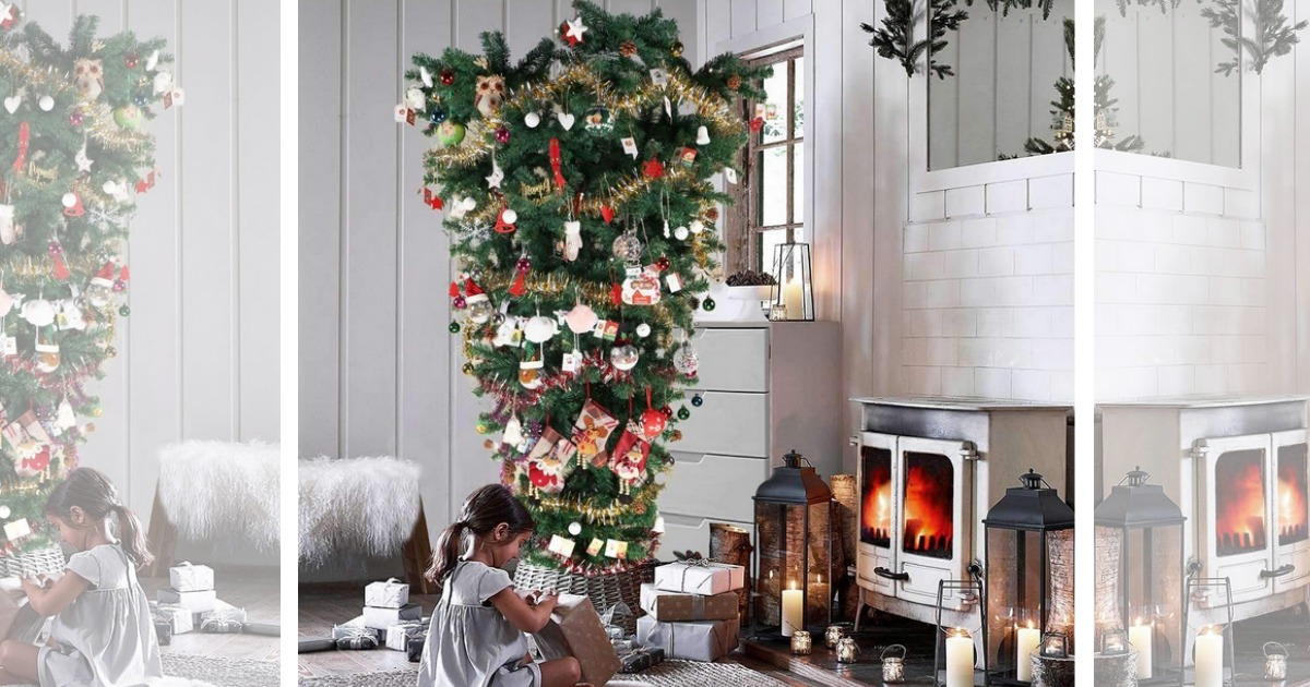 Would You Buy An Upside Down Christmas Tree We Ve Got All The Deals