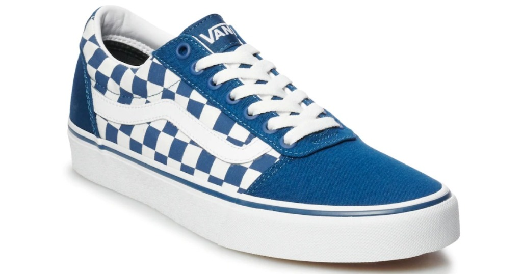 Van's Ward Men's Checkerboard Skate Shoes
