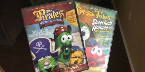 Veggie Tales DVDs Only $4 (Regularly $10)