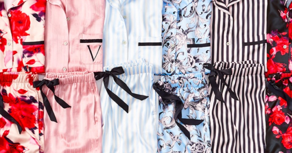 various Victoria's Secret Pajamas