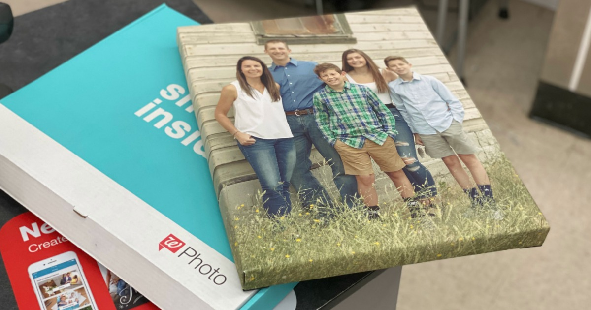 Walgreens Photo Canvas featuring family