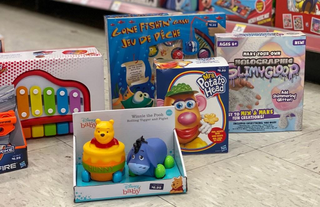 toys at Walgreens