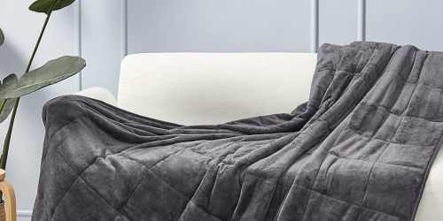 Up to 75% Off Weighted Blankets at Zulily | Available in 7-15 Pounds