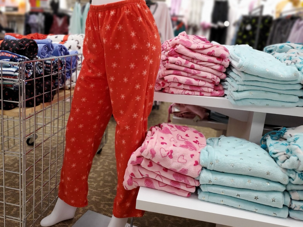 Womens Fleece PJ Pants