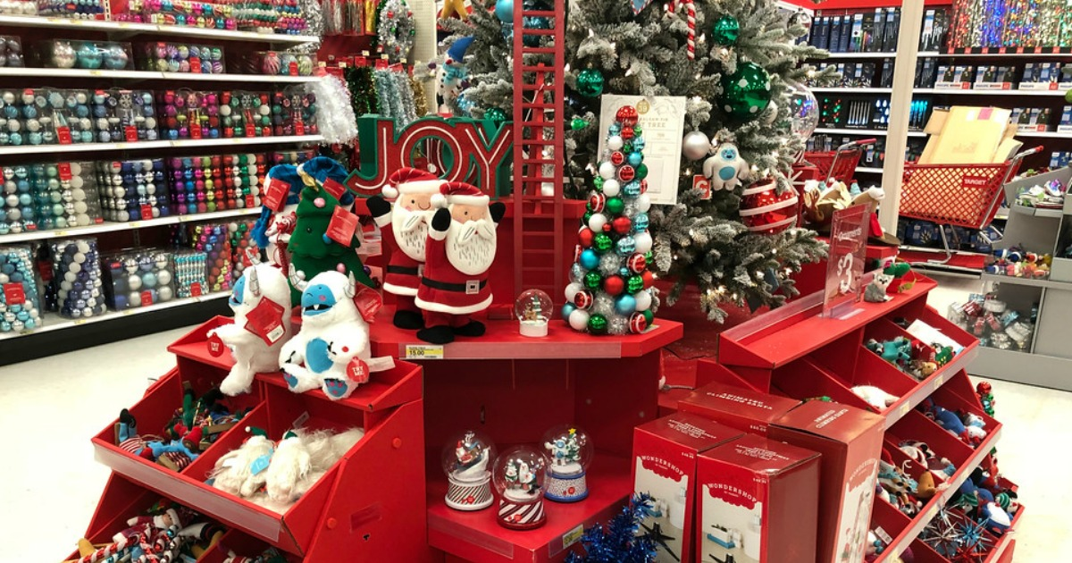 Wondershop area at Target
