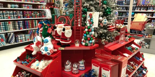 $10 Off $50 Target Holiday Purchase Starting 11/29 | Save on Christmas Trees, Decor & More!