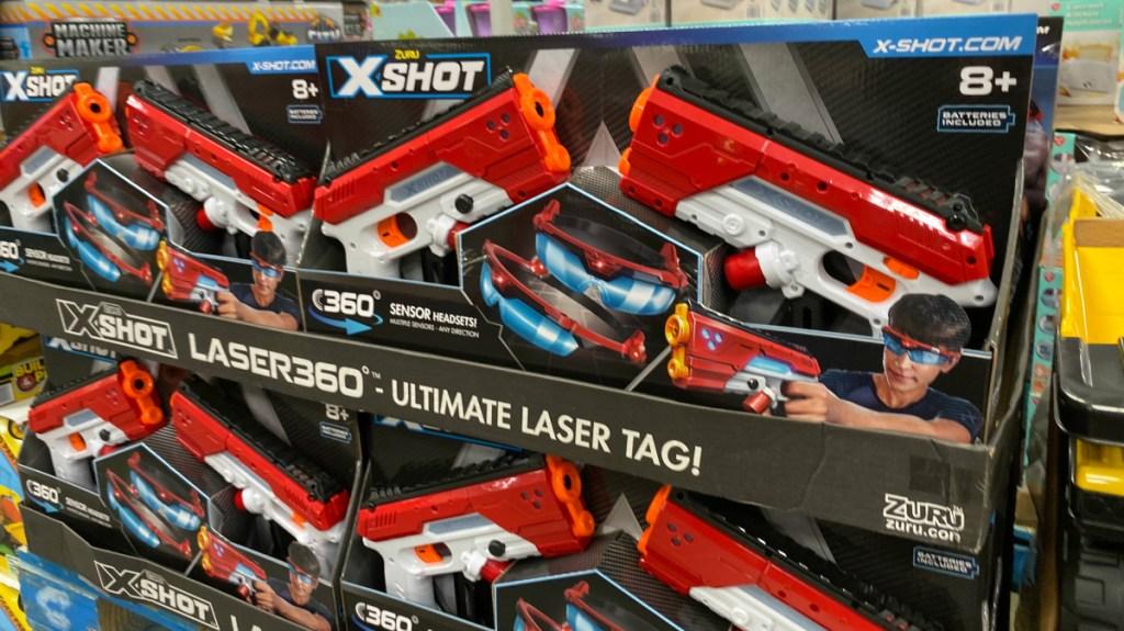 X-Shot Laser360° Double Laser Blaster Pack