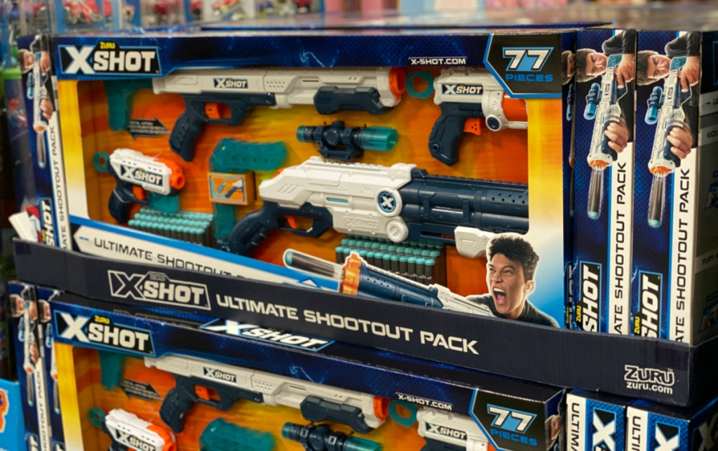 X-Shot Ultimate Shootout Pack