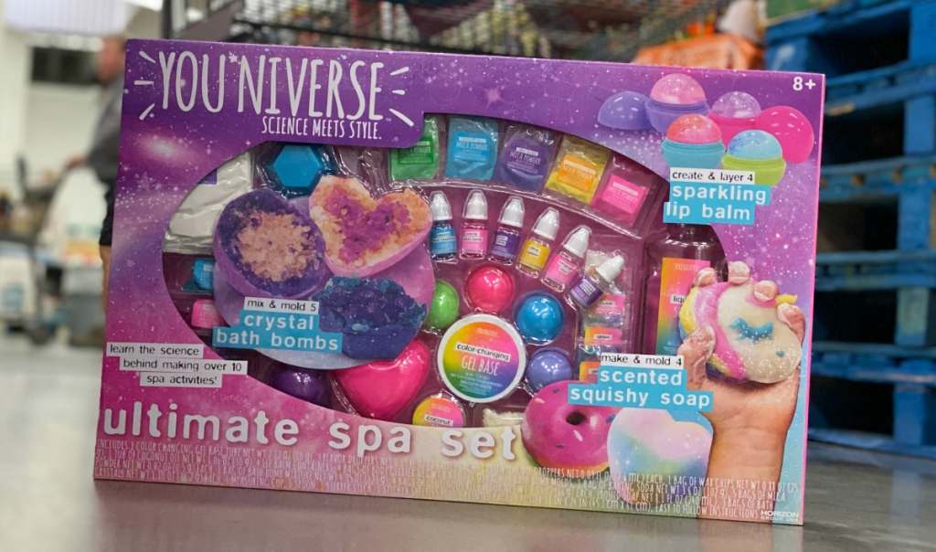 YOU*Niverse 3-in-1 Spa Set